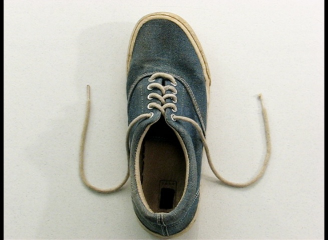 Shoes With Untied Laces
