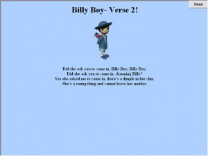 billyboy - Sign a longs for children with autism