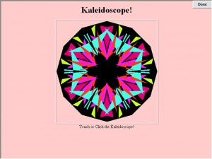 kaleidoscope - autism educational exercise