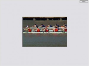 team rowing video for DT Trainer - Autism Software