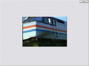 train passing - video for the DT Trainer by AES