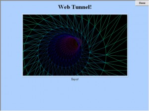 web tunnel